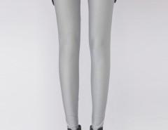 Light Gray High Waist Stretchy Leggings Choies.com sklep internetowy z odzieżą i modą z Wielkiej Brytanii